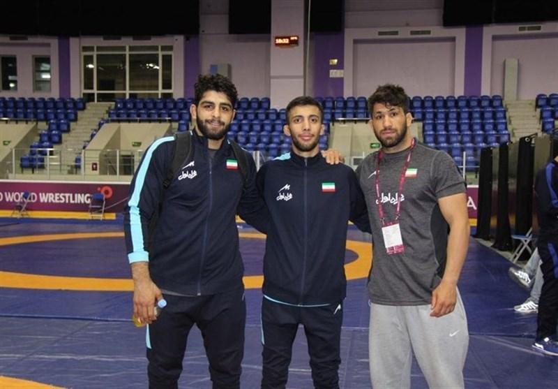کشتی گزینشی المپیک| نمایندگان ایران حریفان خود را شناختند