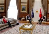 جنجال بر سر تشریفات دیدار اردوغان با سران اتحادیه اروپا
