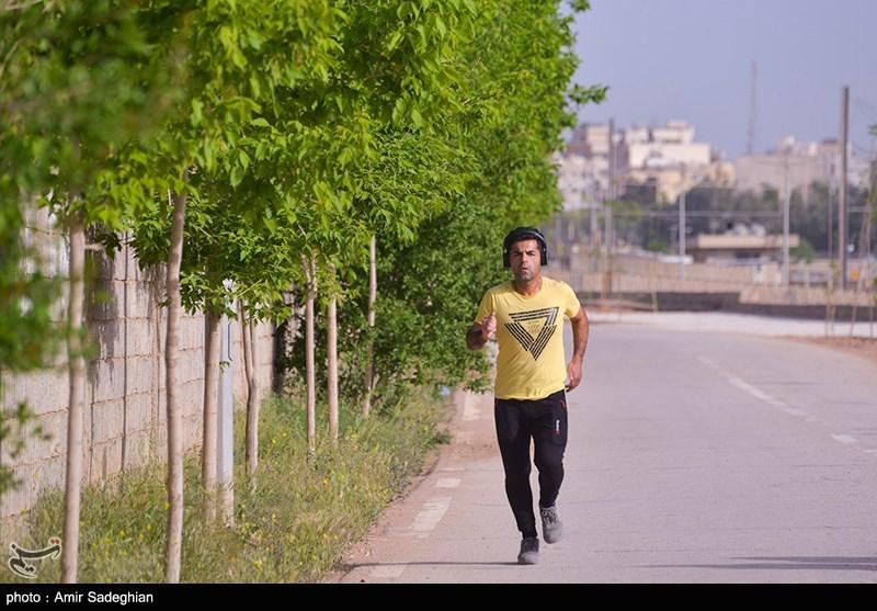 پیاده راه در دست ساخت استاد شجریان در روزهای کرونایی
