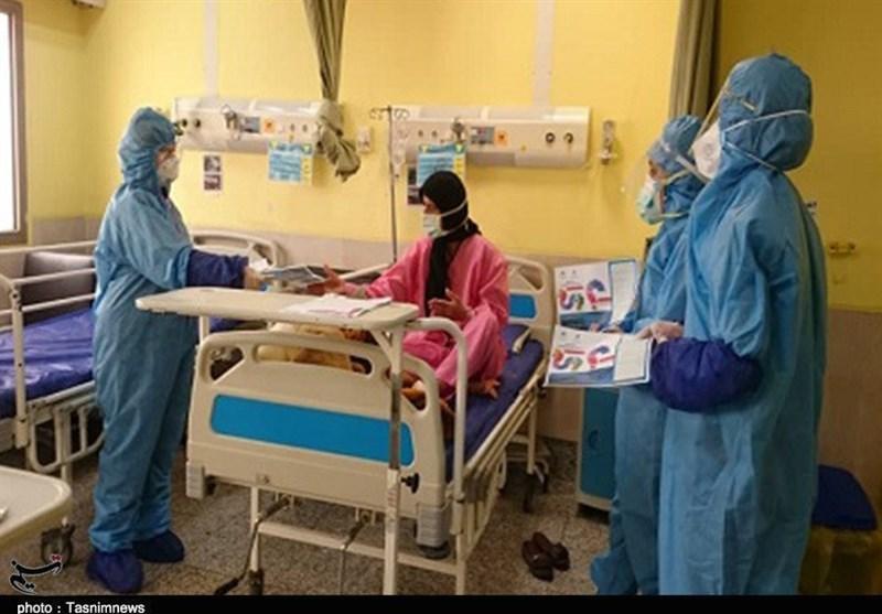 بستری بیماران کرونایی در بیمارستانهای استان بوشهر به روایت تصویر