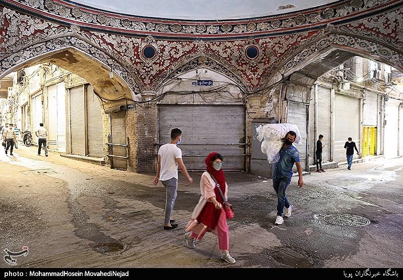 Tehran's Grand Bazaar Shuts Downs Amid New Wave of Coronavirus