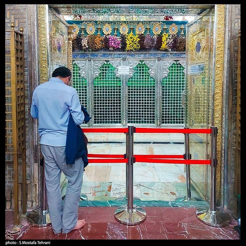 ضریح حضرت عبدالعظیم(ع)