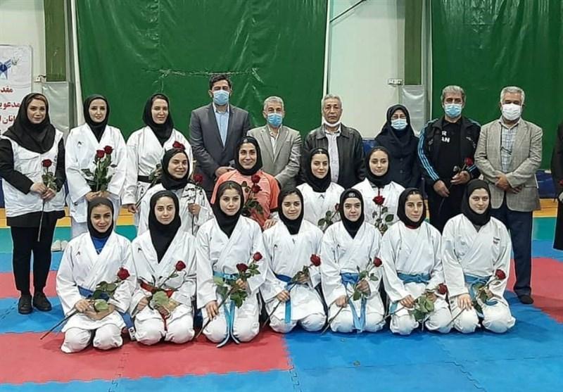حضور نمایندگان کمیته فنی فدراسیون کاراته در اردوی بانوان ملیپوش