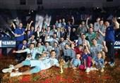 دینامو پس از 13 سال قهرمان لیگ والیبال روسیه شد