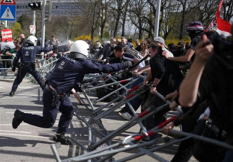 طرح دولتهای اروپایی برای اجباری کردن واکسیناسیون عامل اعتراضات گسترده در سراسر قاره سبز