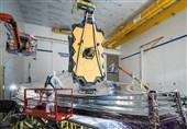"""تلسکوپ فضایی """"جیمز وب"""" قبل از پرتاب وارد گویان فرانسه شد"""