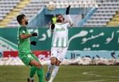 لیگ برتر فوتبال| تساوی ماشینسازی و آلومینیوم در 45 دقیقه اول