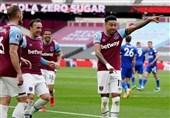لیگ برتر انگلیس| پیروزی وستهام مقابل لسترسیتی در یک بازی پرگل