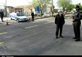 اجرای طرح محدودیتهای تردد در استان مرکزی به روایت تصویر