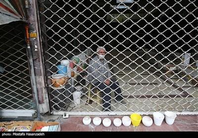 تعطیلی بازار گرگان در پیک چهارم کرونا