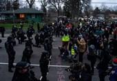 بازداشت 100 نفر در ششمین شب اعتراضات به قتل شهروند سیاهپوست توسط پلیس آمریکا