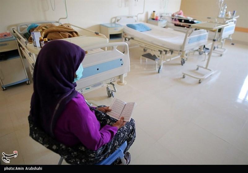 موج چهارم کرونا در بیمارستان امام حسن(ع) بجنورد به روایت تصاویر