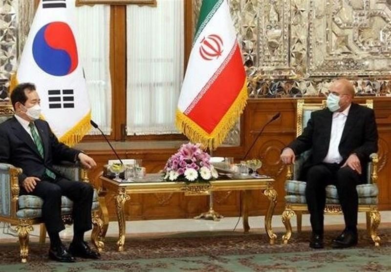 قالیباف: ذهنیت مردم ایران نسبت به کره منفی است