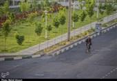 وضعیت آغاز محدودیتهای کرونایی در پردیسان به قلم دوربین