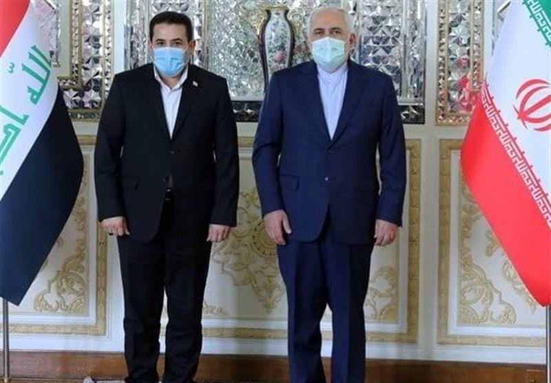 ظریف: ایران از نقش سازنده عراق در مناسبات منطقهای استقبال میکند/ نیروهای بیگانه باید منطقه را ترک کنند