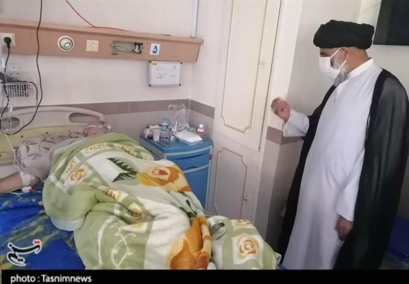 قدردانی نماینده ولیفقیه در استان خوزستان از کادر درمان دزفول و گروه جهادی شهدای مدافع حرم + تصاویر