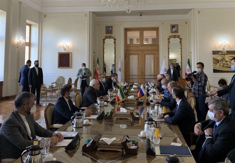 دیدار ظریف و لاوروف در تهران
