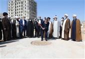 """عملیات اجرایی احداث مسجد """"هفت درب"""" در مشهدمقدس آغاز شد"""