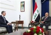 برهم صالح در دیدار با سفیر ترکیه: مخالف دخالت خارجی در عراق هستیم
