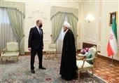 روحانی یستقبل وزیر الخارجیة الروسی