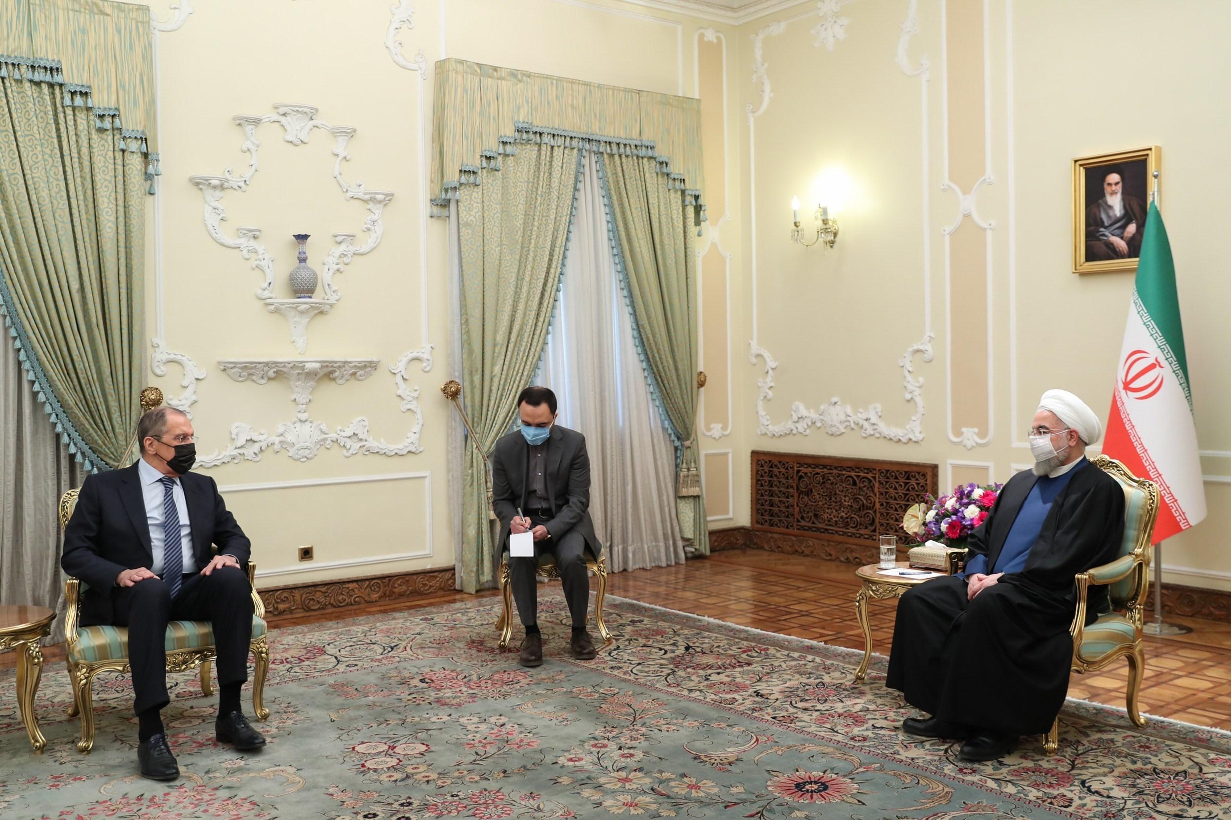 سرگئی لاوروف , دولت دوازدهم جمهوری اسلامی ایران , حسن روحانی , کشور روسیه ,