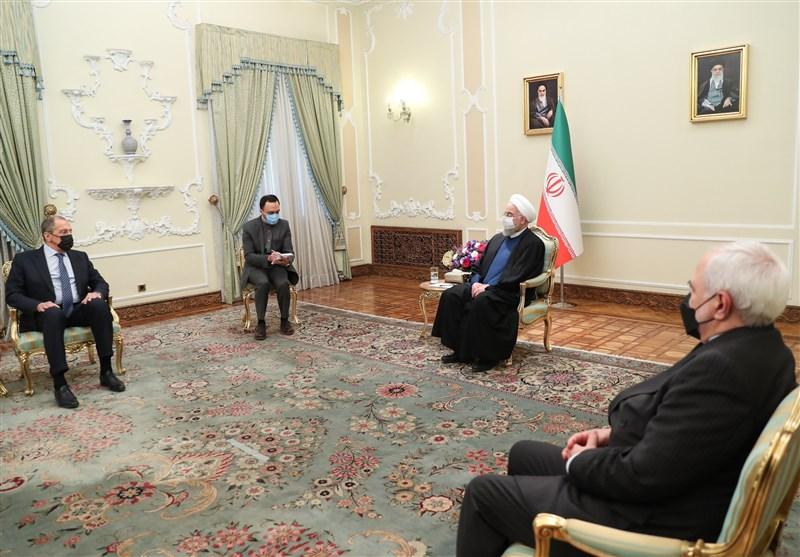 لاوروف به دیدار روحانی رفت +تصاویر