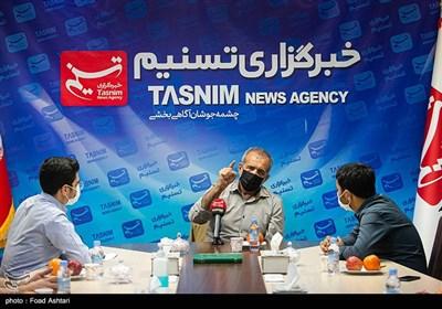 حضور مسعود پزشکیان در خبرگزاری تسنیم