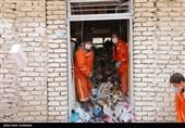 خانهایی مملو از زباله در قلب شهر بجنورد + تصاویر