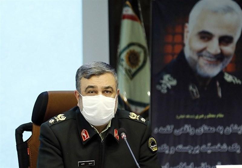 دلجویی فرمانده نیروی انتظامی از جانباز بابلسری/ اشتری: با مأمور برخورد شده است