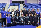 Iran Greco-Roman Team Wins Asian Wrestling Championships