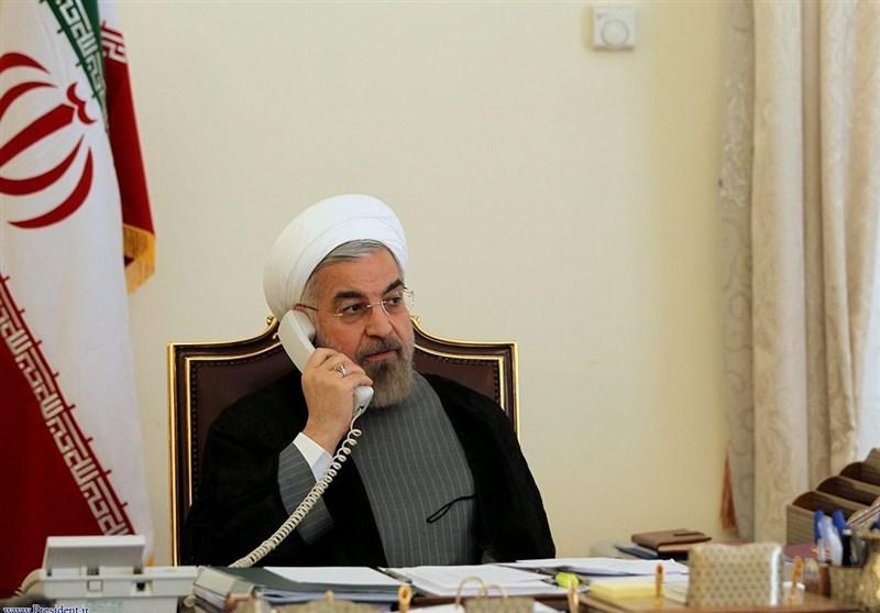 روحانی: من الضروری التصدی بحزم للأعمال الإرهابیة والتخریبیة للکیان الصهیونی الغاصب