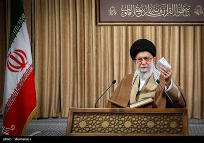 """آیتالله خامنهای به استفتائی درباره """"صحبت کردن پشت سر نامزدهای انتخابات"""" پاسخ دادند"""