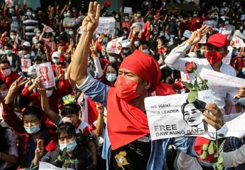 Security Forces Fire on Protesting Medical Workers in Myanmar
