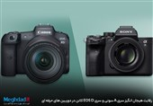 رقابت هیجان انگیز سری A سونی و سری EOS D کانن در دوربین های حرفهای
