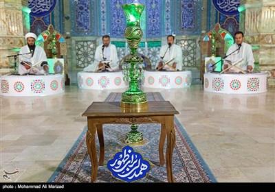 ترتیلخوانی قرآن کریم در مسجد جمکران