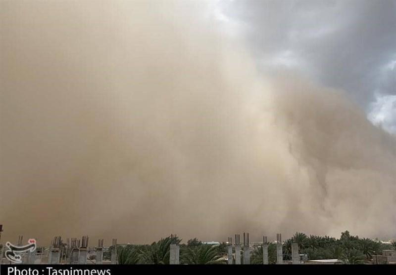 سرعت طوفان شن در زابل به 108 کیلومتر بر ساعت رسید
