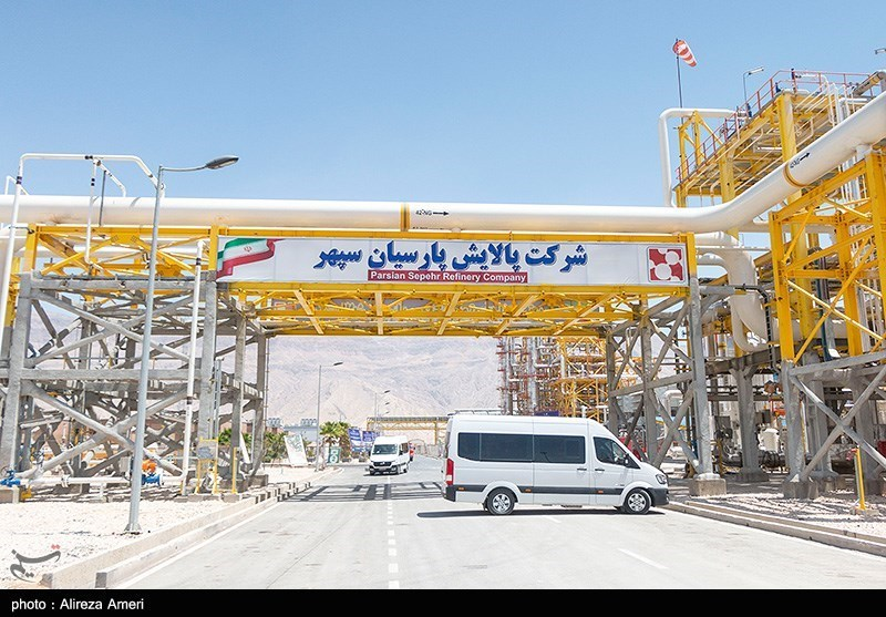 افتتاح شرکت پالایش پارسیان سپهر شهرستان مهر