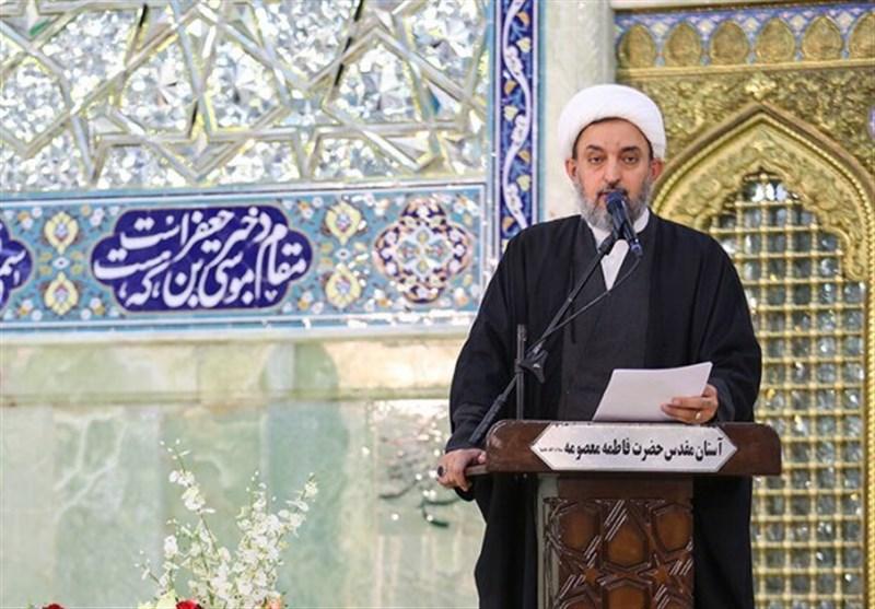 عضو مجلس خبرگان رهبری: صبر و استقامت در مشکلات تاکید امیرالمومنین(ع) به جامعه اسلامی است