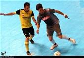 روایت تصویری تسنیم از دیدار تیمهای فوتسال بازارهای کوثر اصفهان و ایمان شیراز
