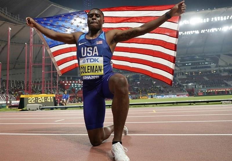 کاهش دوران محرومیت قهرمان دوی 100 متر جهان