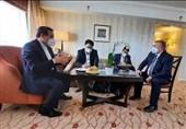 اجتماع ثلاثی لرؤساء الوفود الایرانیة والروسیة والصینیة فی فیینا