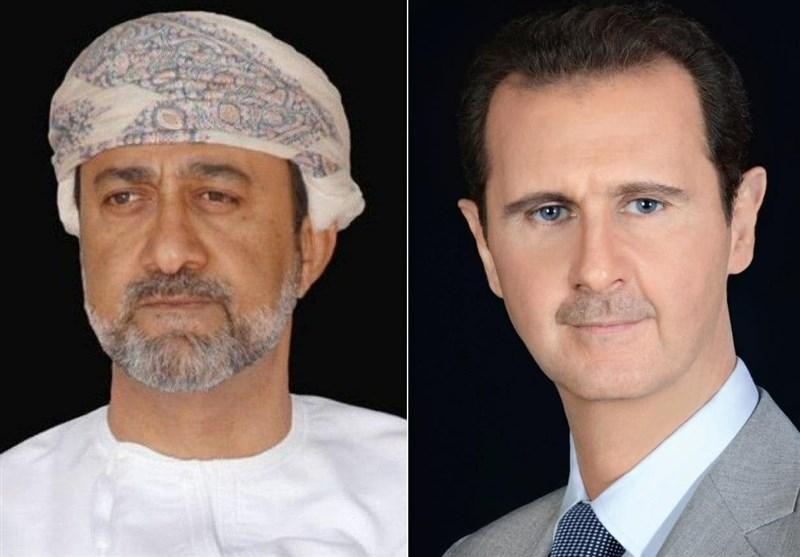 پیام تبریک سلطان عمان به بشار اسد