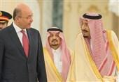 گفتوگوی پادشاه سعودی و رئیسجمهور عراق درباره امنیت منطقه