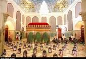 روایت تصویری تسنیم از جزءخوانی قرآن در امامزاده نرمی دولتآباد اصفهان