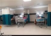 بخش کرونایی بیمارستان شهدای هستهای بوشهر به روایت تصویر