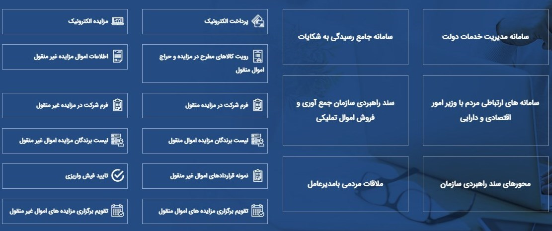 گمرک جمهوری اسلامی ایران , سازمان جمعآوری و فروش اموال تملیکی ,