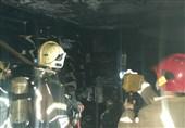 جزئیات آتشسوزی در پاساژ مهستان + تصاویر