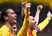 جام حذفی اسپانیا| بارسلونا با غلبه بر بیلبائو قهرمان شد