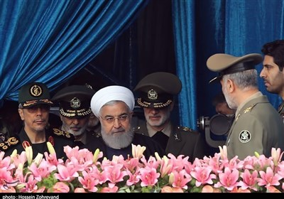 Iran's Military Gear Never Been Better Than Now: President