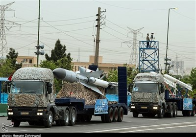 Iran Army Unveils New Military Hardware in Parade
